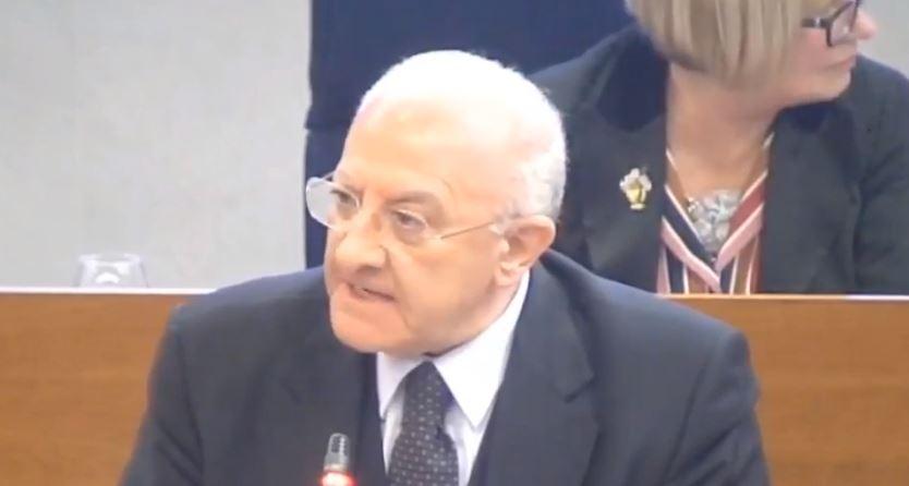 """Ricerca oncologica, """"Pascale"""" escluso da fondi: le dichiarazioni di De Luca"""