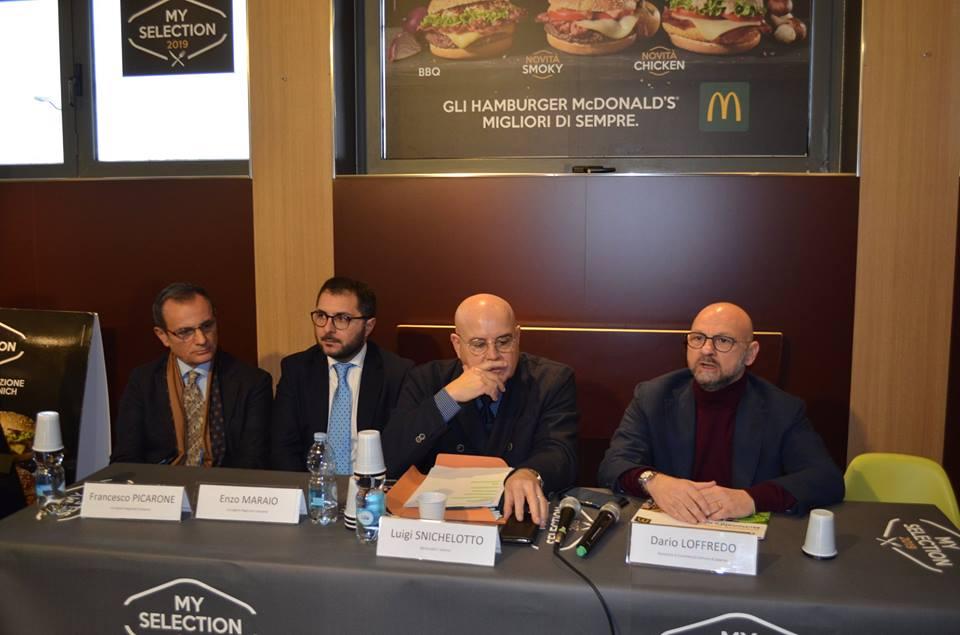 McDonald's annuncia 16 nuove aperture e 600 nuove assunzioni in Campania