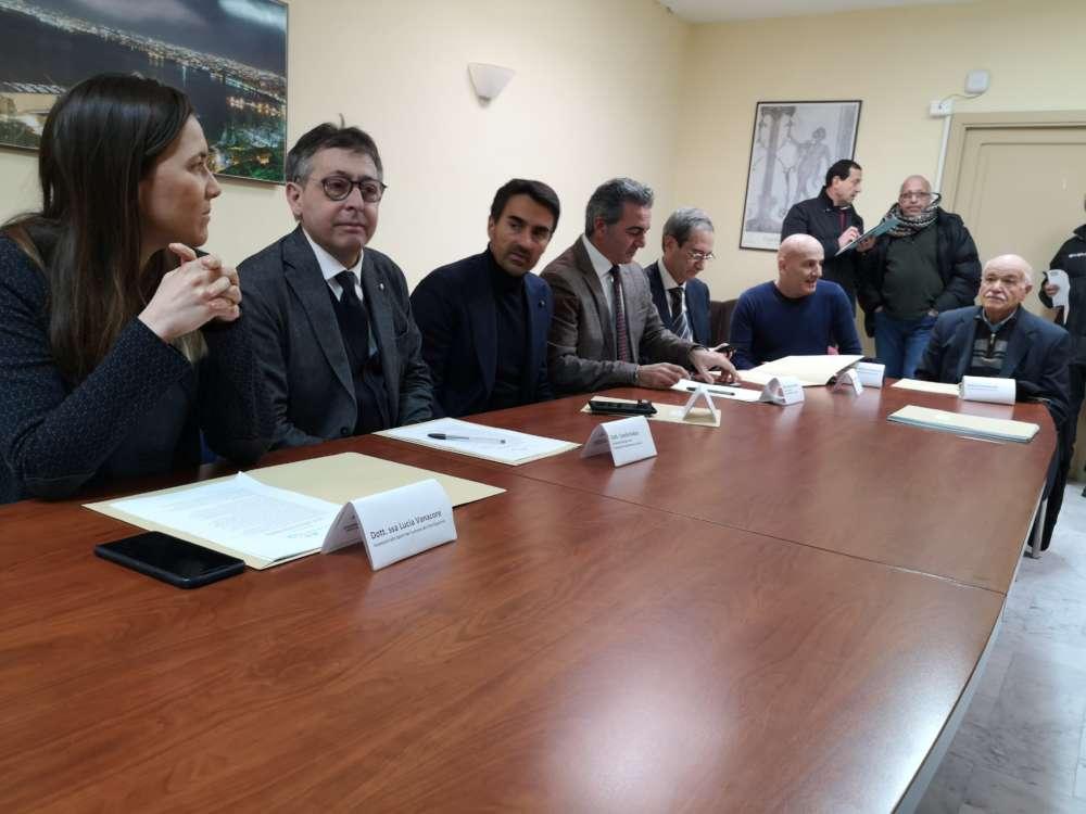 Presentata al Comune di Castellammare la mezza maratona Stabiaequa
