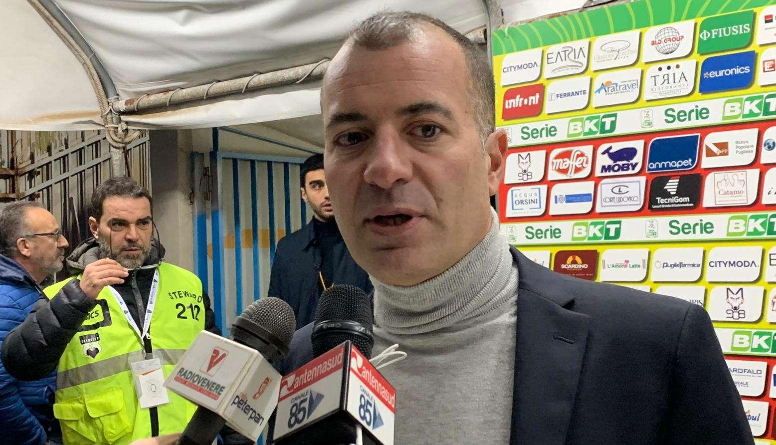 """Sticchi Damiani: """"Abbiamo dimostrato di essere più forti del Benevento"""""""