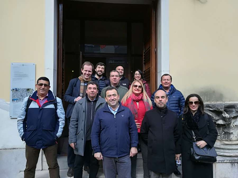 Capitale europea del vino: delegazione in visita ai Musei nel Sannio