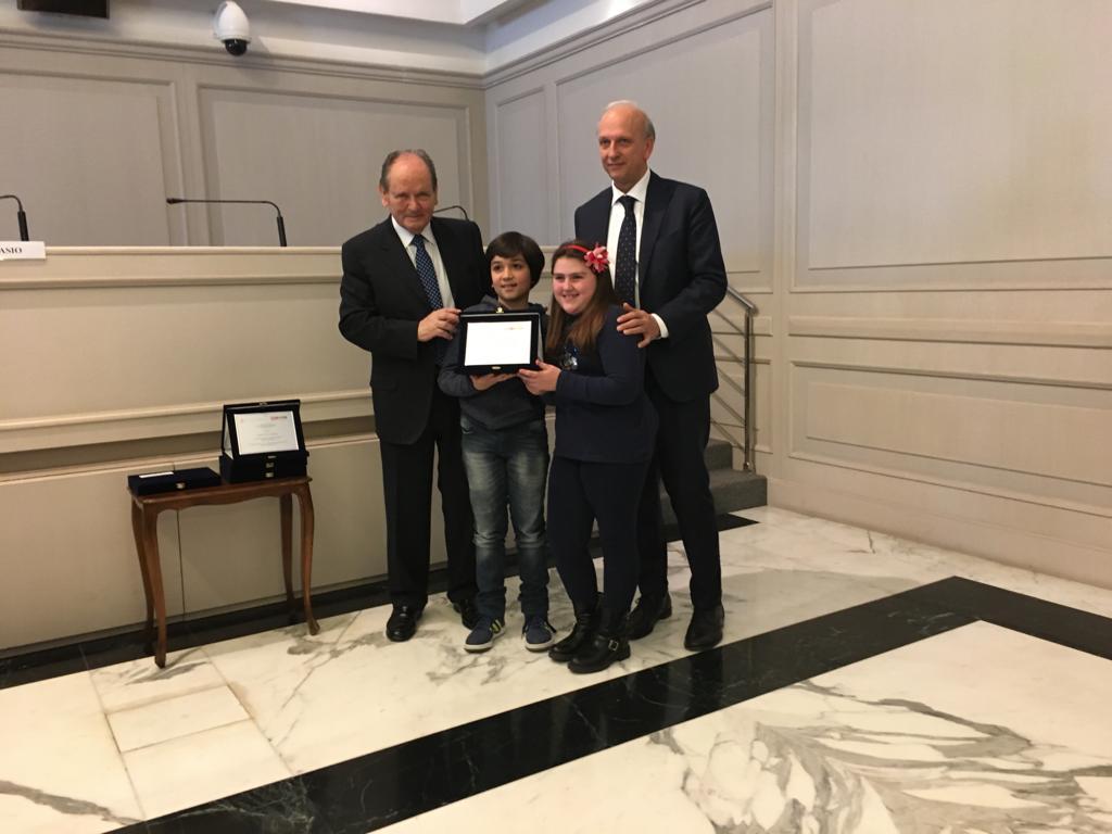 """""""La Costituzione dei ragazzi"""": premiata la scuola Madre Orsola Mezzini"""