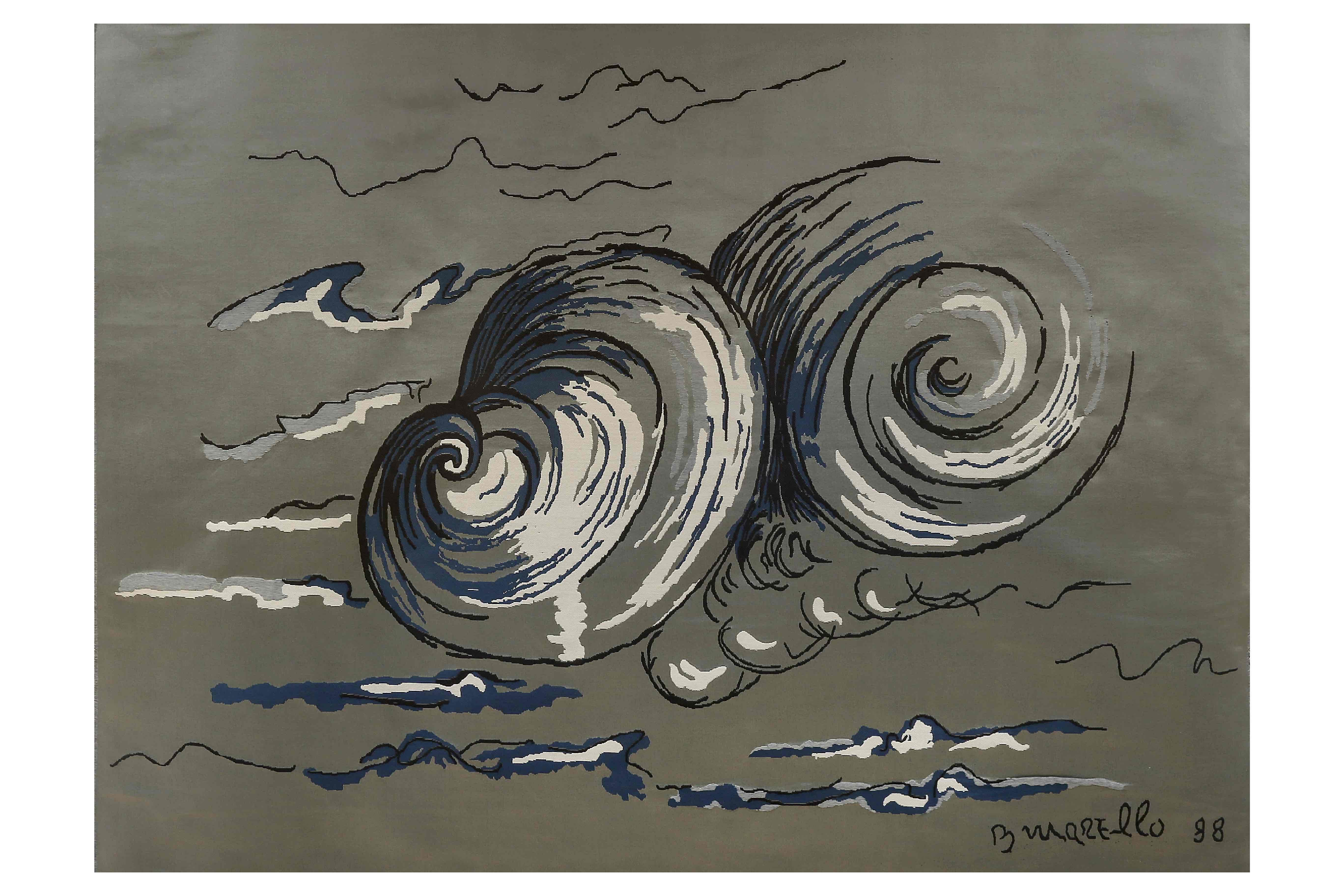 """""""Nuvole"""", a Caserta la mostra personale di Battista Marello"""