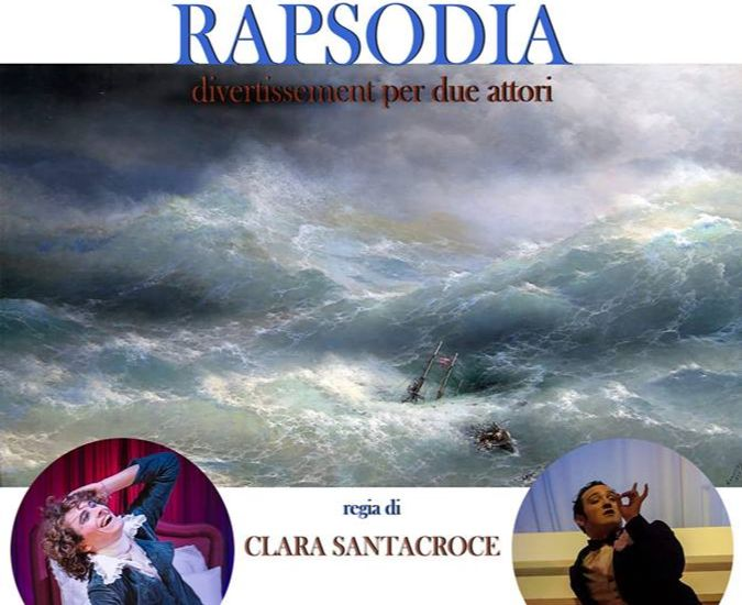 """Al Piccolo Teatro del Giullare appuntamento con """"Rapsodia"""""""