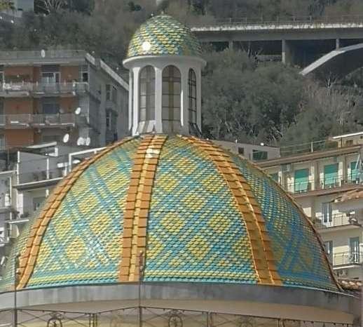 La cupola dell'Annunziata simbolo delle giornate FAI di Salerno