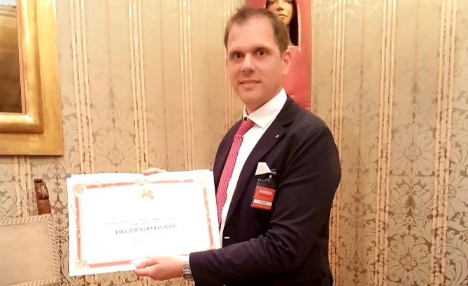 Caserta, all'Antica Distilleria Petrone il premio di migliore azienda 2019