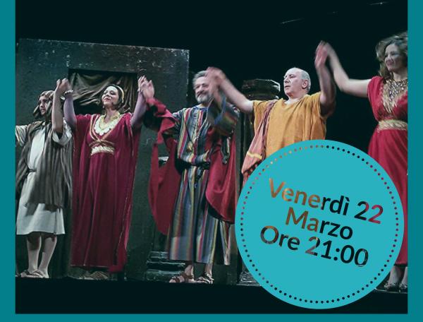 """Capua: tornano al Teatro Ricciardi """"I menecmi"""" di Plauto"""