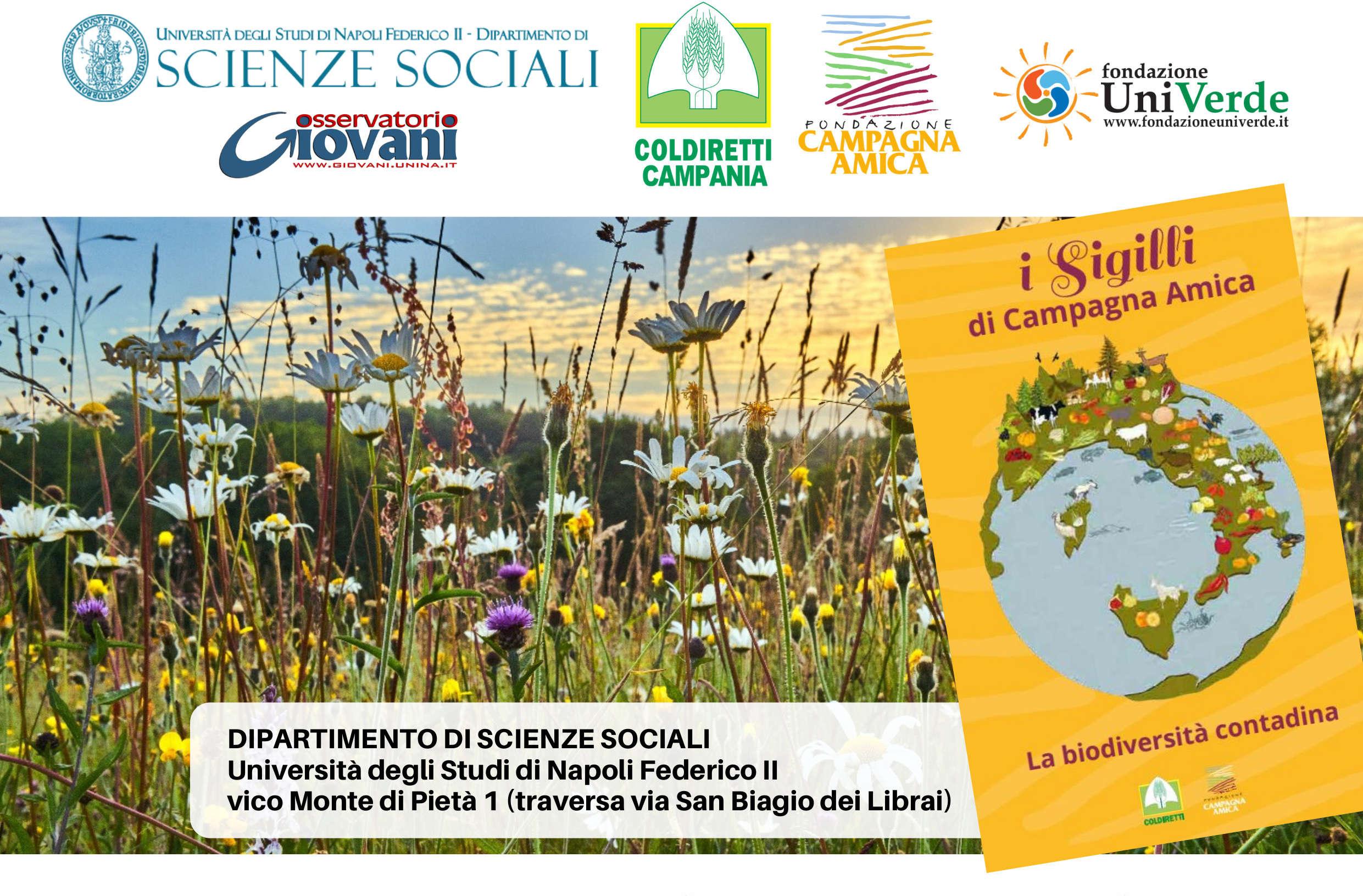 Al dipartimento di scienze sociali workshop con Coldiretti Campania