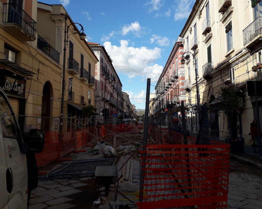 SMCV: lavori su Corso Garibaldi, importanti novità dall'incontro con i commercianti