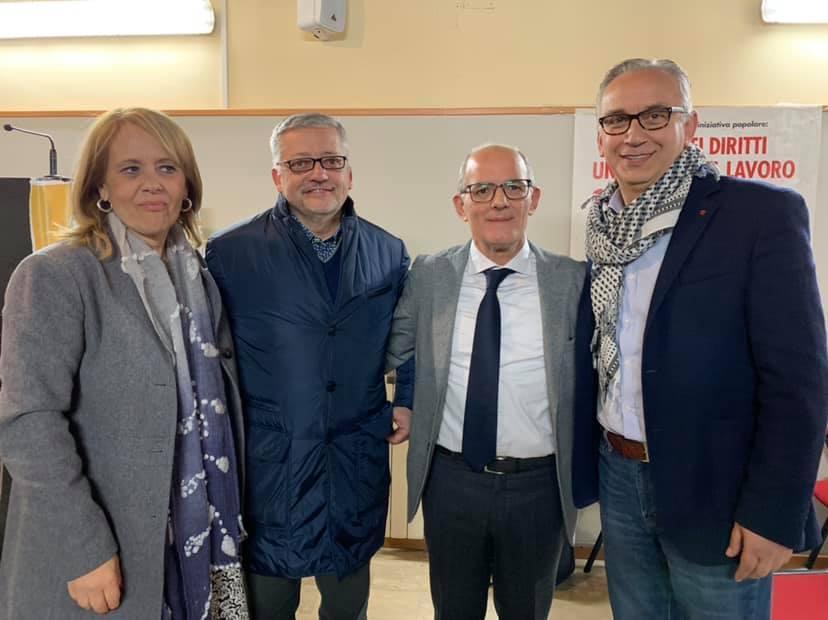 Cgil Caserta, Papadimitra e Ricciardi eletti nella segreteria generale