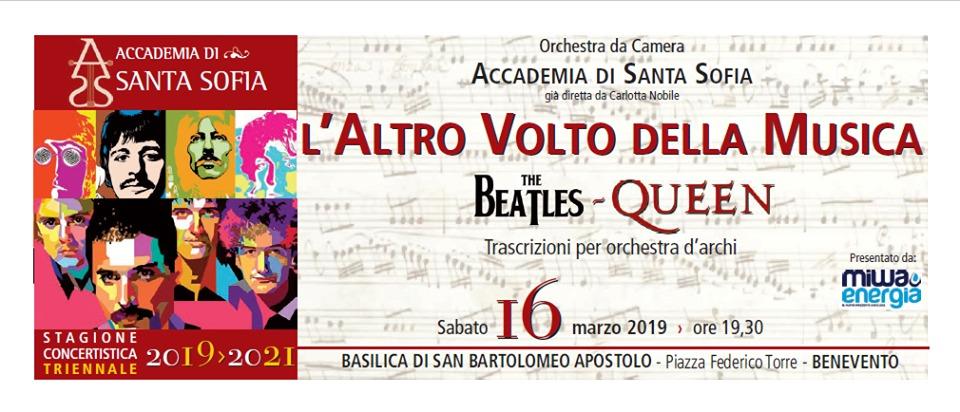 """Orchestra dell'Accademia di Santa Sofia in concerto con """"The Beatles Queen"""""""