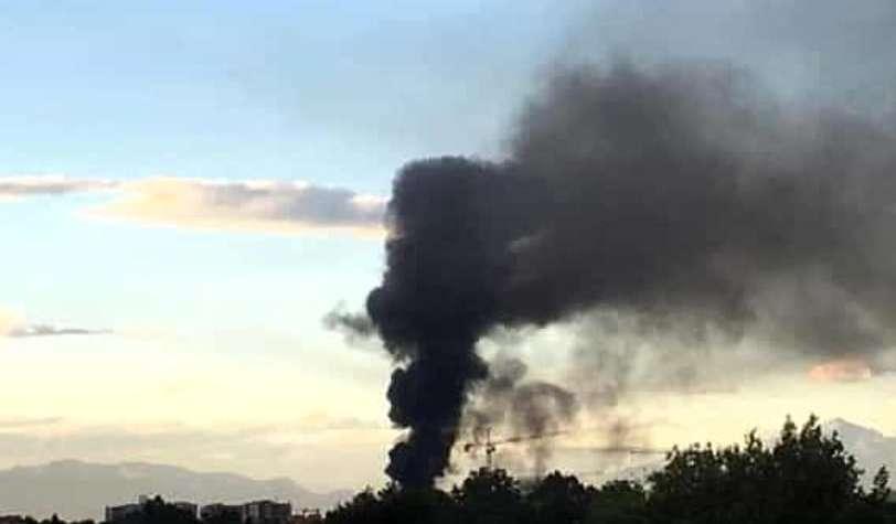 Paura per una scolaresca di Maddaloni in gita: il bus prende fuoco sull'A1