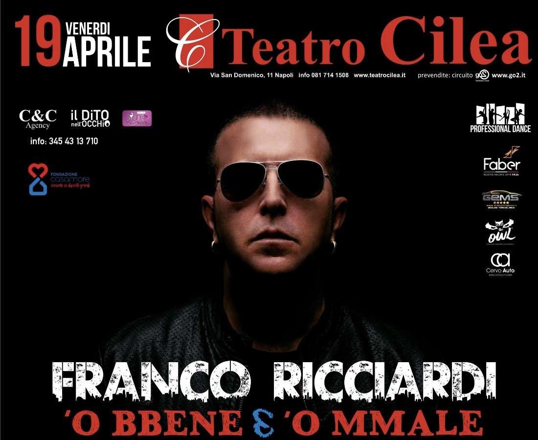 Napoli, Franco Ricciardi porta la Terra dei Fuochi a teatro
