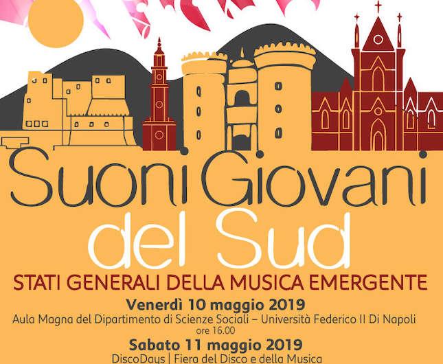 """""""Suoni Giovani del Sud"""", a Napoli gli Stati Generali della musica emergente"""