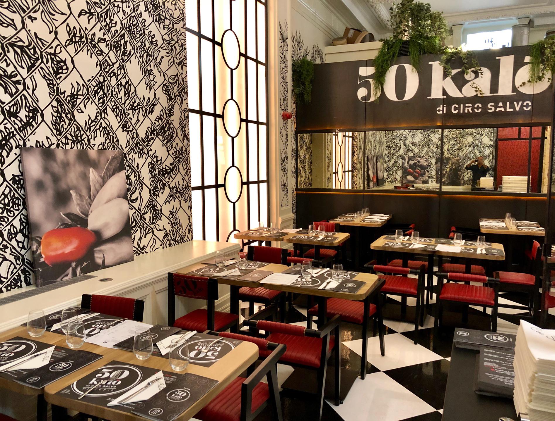 50 Kalò Pizzeria London di Ciro Salvo è la migliore pizzeria d'Europa  secondo 50 Top Pizza
