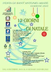 Festa Sant'Antonio Abate 2020: domani a Recale l'accensione