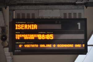 E' partito il Treno Storico Benevento – Pietrelcina – Assisi