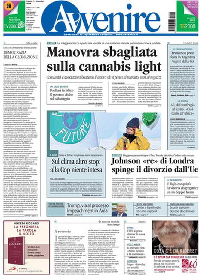 Brexit, Greta, le Sardine e Gattuso: ecco le prime pagine de