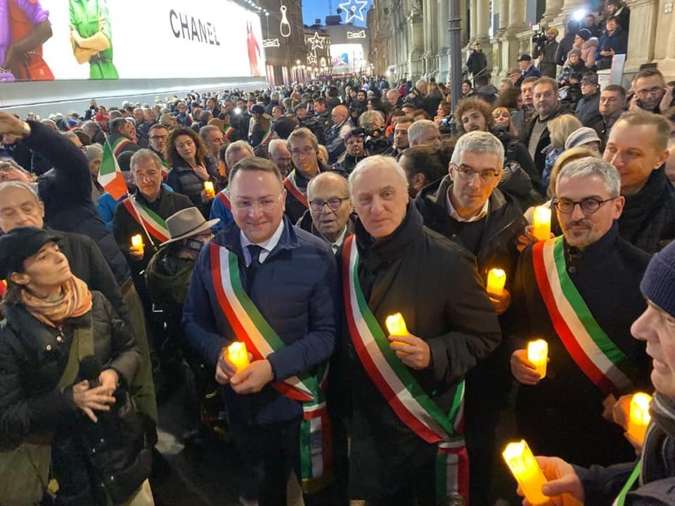 Baronissi e Pellezzano: a Milano per la scorta civile a Lili