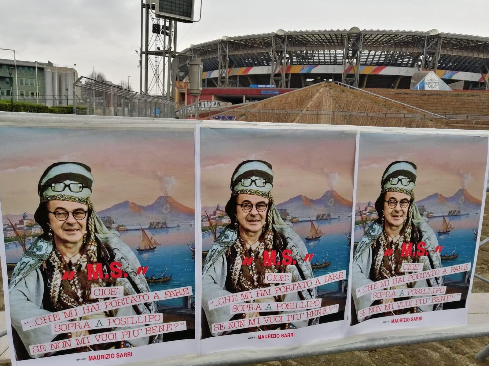 Napoli, ancora Sarri nel mirino dei tifosi: dopo gli strisci