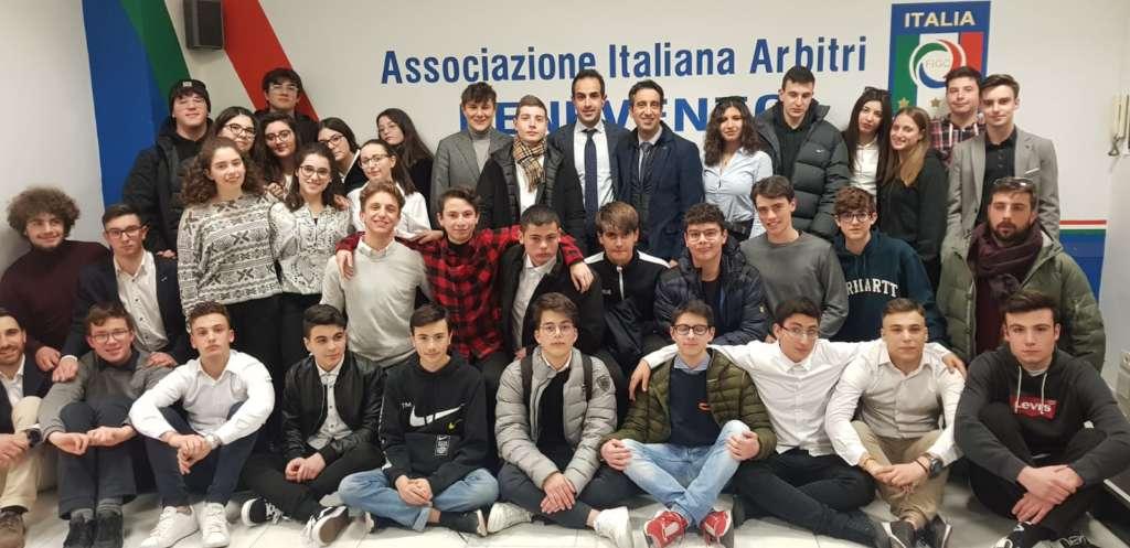 Calcio, 37 nuovi arbitri per la sezione Aia di Benevento