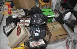 """Il deposito delle sigarette era nel """"Buvero"""": quattro arrest"""