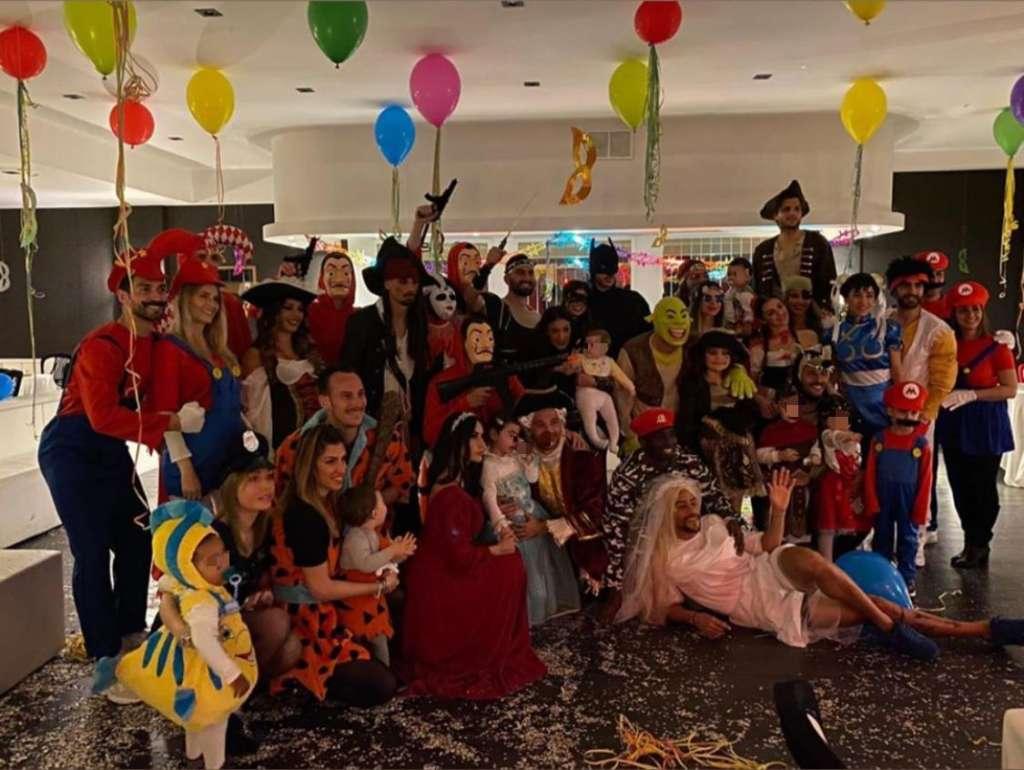 Carnevale 2020: i costumi scelti dai giocatori del Benevento
