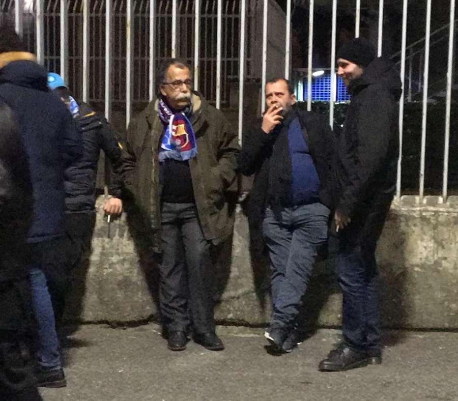 """Ruotolo, un tifoso """"misto"""". Metà Barça, metà Napoli"""