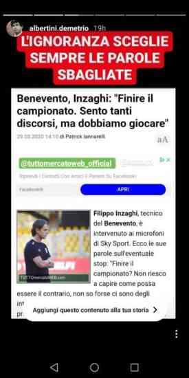 Albertini attacca Inzaghi, ma non sa nemmeno di cosa parla