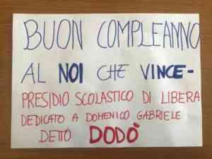 L'I C  Sant'Angelo a Sasso festeggia un anno come presidio scolastico di Libera