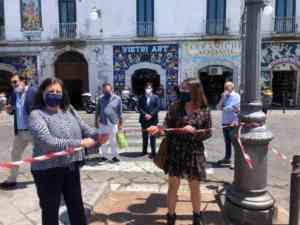 Vietri sul Mare |  la ceramica per il restyling di piazza Matteotti