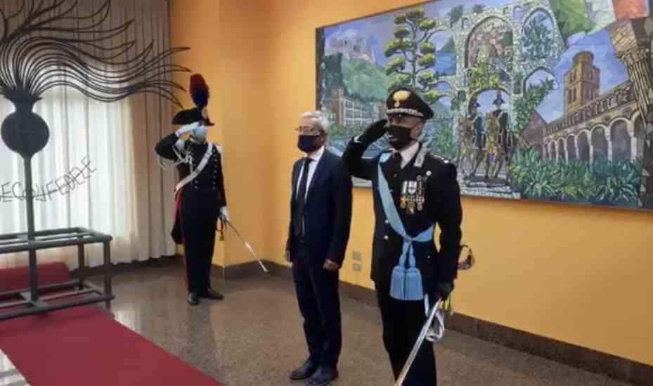 Carabinieri di Salerno, una festa in memoria dell'impegno an