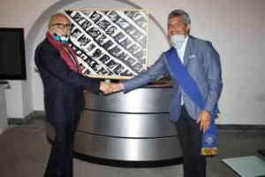 Arcos, donate due opere d'arte alla Provincia: Milot e Lyu J