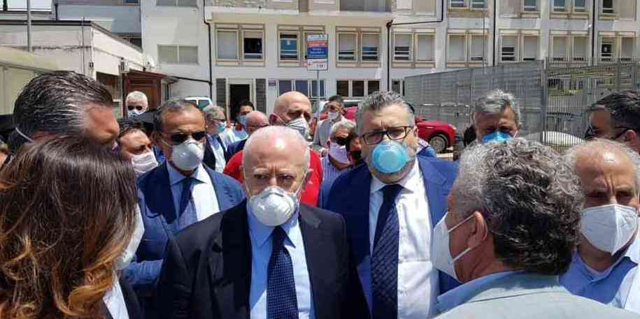 Agropoli, entro fine giugno ospedale operativo: la promessa