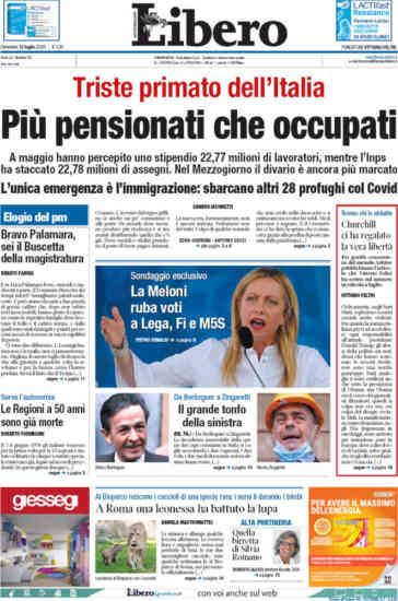 Rassegna stampa di domenica 12 luglio, le prime pagine dei q