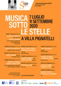 """""""Musica sotto le stelle"""": ecco i concerti di Villa Pignatell"""