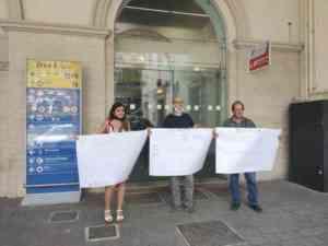Salerno, protestano i dipendenti della società che vendeva i