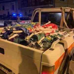 Castellabate, vigili in spiaggia: 1500 sequestri di merce e