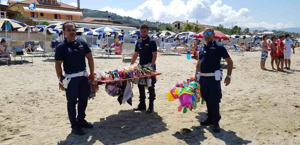 """Agropoli, """"spiagge sicure"""": ancora sequestri sul litorale"""