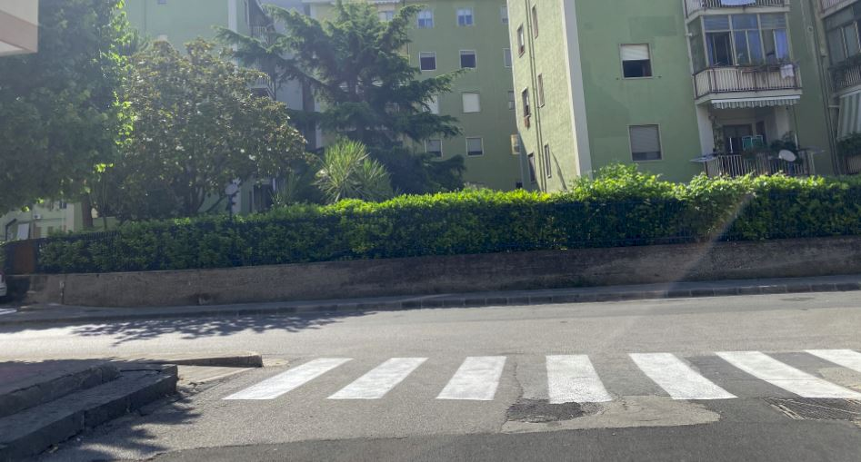 Salerno, sette nuovi passaggi pedonali in via Tusciano