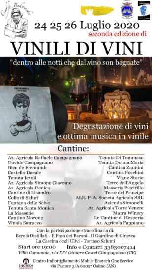Castel Campagnano, il 24 25 26 luglio la seconda edizione di