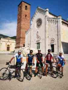 Carditello Reale, in bici da Torino a Caserta per promuovere la Reggia