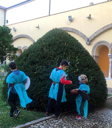 Benevento, doppio appuntamento al Chiostro di Santa Sofia per bambini ed adulti