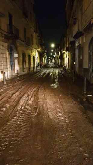 Sarno, 250 sfollati: si lavora per ripulire fango e detriti