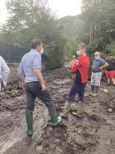 Smottamenti a Cupa Belvedere: sgombero cautelativo per le famiglie residenti