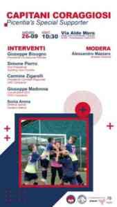 """Fondazione Picentia e Sporting Club Picentia, nasce il progetto """"Capitani coraggiosi"""""""