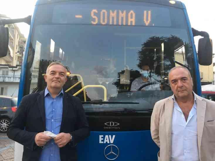 Nuovo bus da Somma Vesuviana alla zona ospedaliera di Napoli