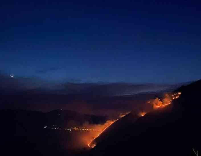 La Valle del Sele e Tanagro bersaglio dei piromani |  s'indaga