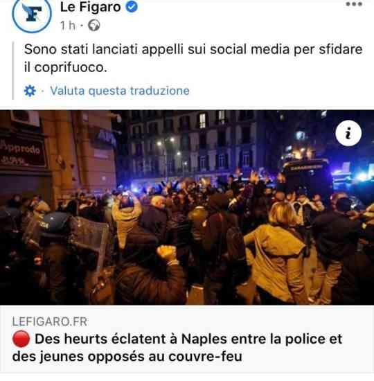 Guerriglia a Napoli, gli scontri fanno il giro del mondo (FOTO)