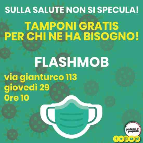 Tamponi gratis a Napoli: l'iniziativa